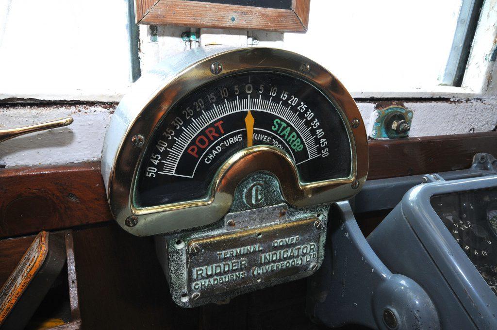 Rudder indicator
