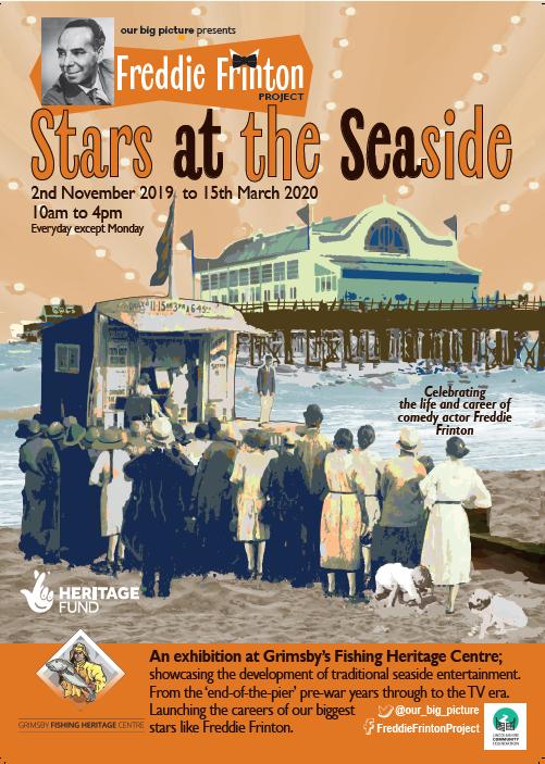 Poster for Freddie Frinton exhibition
