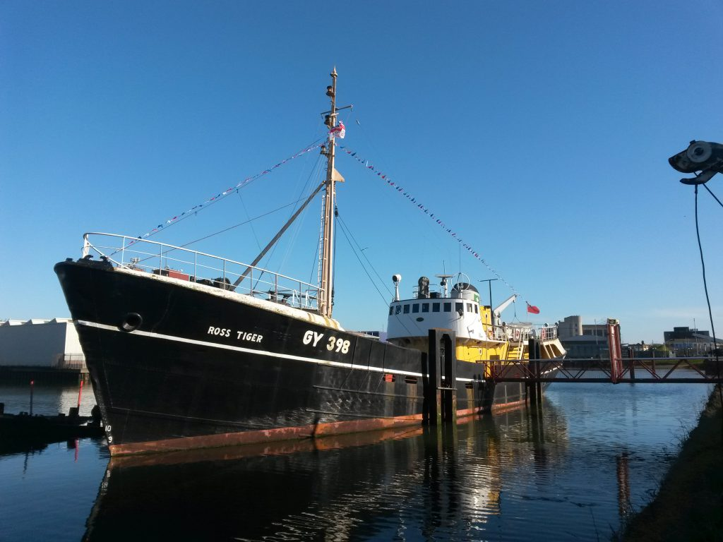 Ross Tiger Boat April 2016