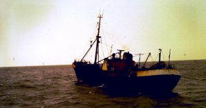 Ross Tiger sunset sailing