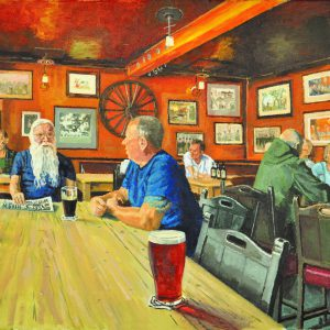 People, Places and Pubs: A retrospective exhibition of paintings and drawings by local artist Tony Codd